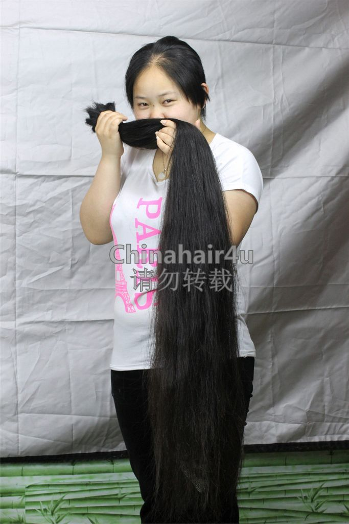 ... knee length hair. ...