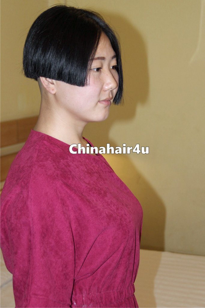 how to cut hair from ponytail