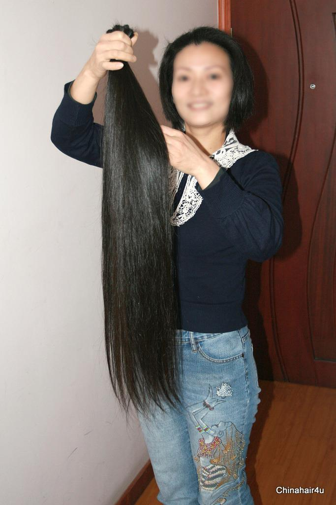 how to cut your own very long hair