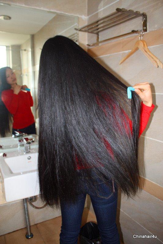 how to cut butt hair